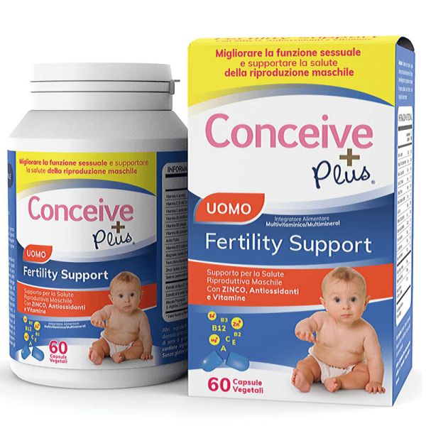 Conceive Plus testosterone boosterone booster uomini fertilità pillole integratore vitaminico