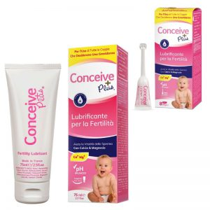Conceive Plus Fertility lubrificante per fertilità miglior lubrificante in bundle + 8 applicatori
